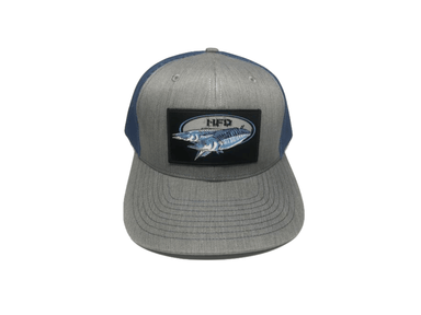 wahoo fishing hat trucker richardson 112
