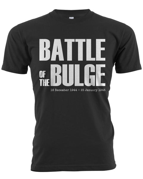 Battle of the Bulge T-Shirt Black