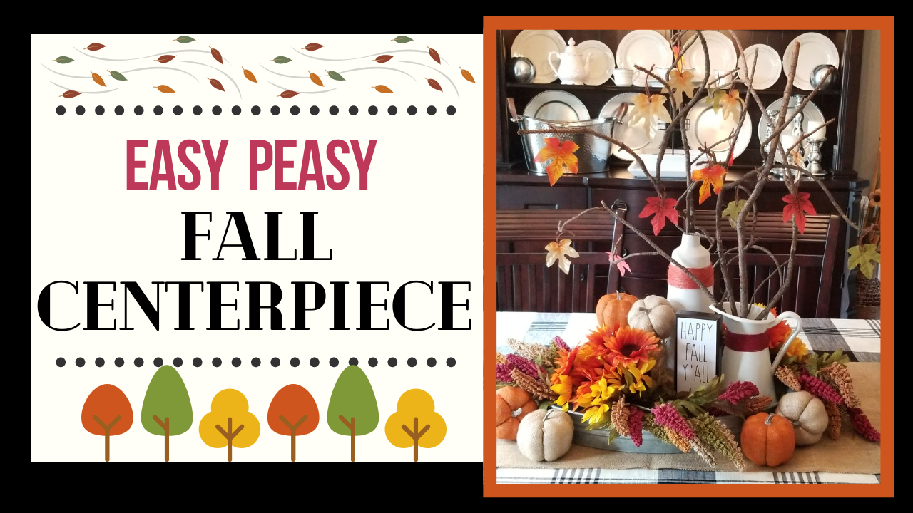 Fall Centerpiece Video Tutorial