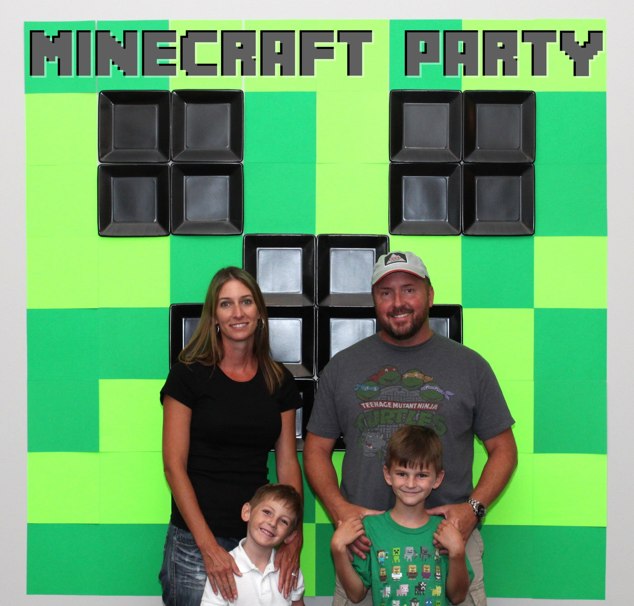 Minecraft Party Printables and Ideas Roundup