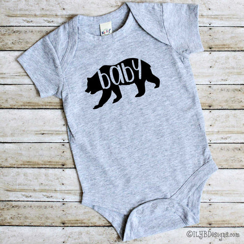 Infant Bodysuits - BABY BEAR Infant Bodysuit - ILYB Designs