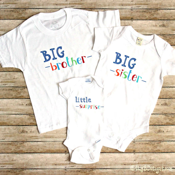 BIG SISTER Children's T-Shirt - BIG SISTER Kids Tee - ILYB Designs
