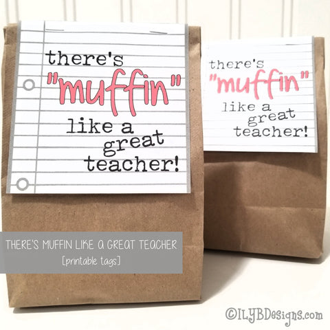 Muffin Like a Great Teacher SVG, PNG, JPEG Cutting Files - ILYB Designs