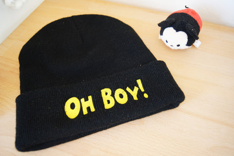 Oh Boy! Beanie - Winter Clearance!