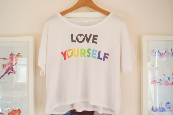 Love Yourself Flowy Tee