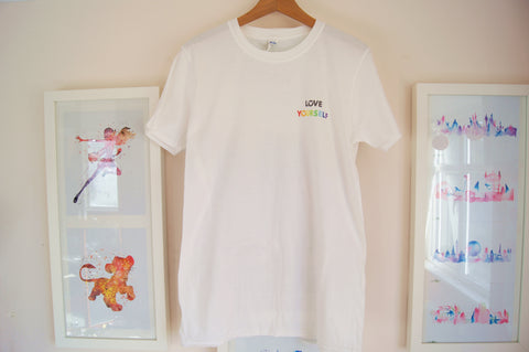 Love Yourself Logo Tee