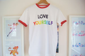 Love Yourself Ringer Tee