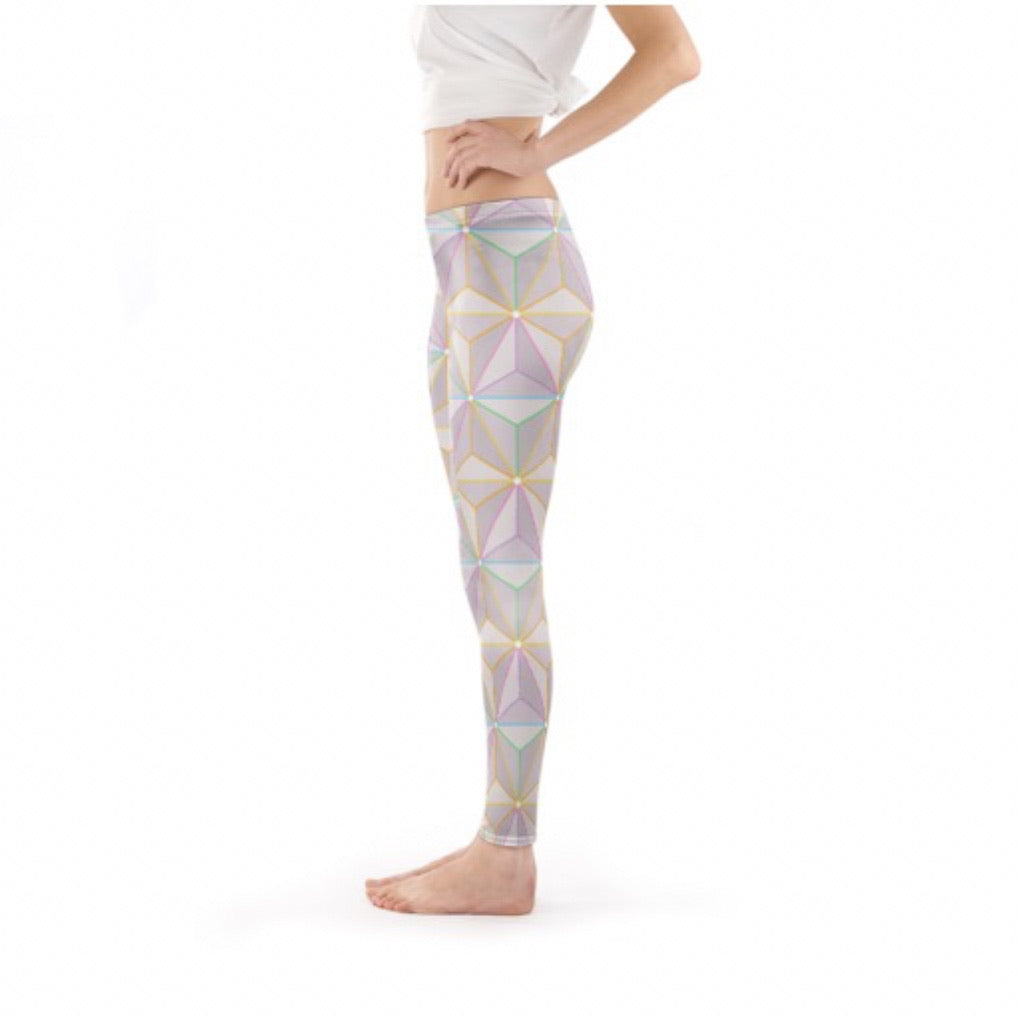 Rainbow Spaceship Leggings