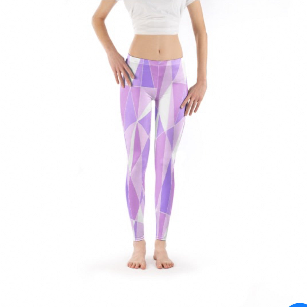 Galactic Purple Leggings