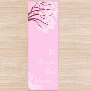 The Flower That Blooms Yoga Mat