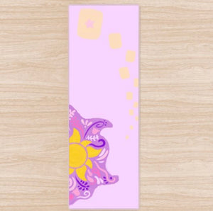 Floating Lanterns Yoga Mat