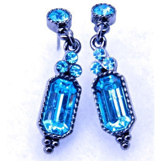 Blue Light Post Earrings - Dazzle Her Now