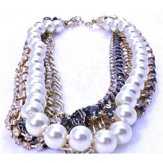 Pearl Variety Strand Necklace - Dazzle Her Now