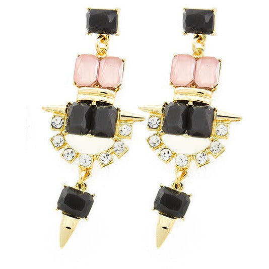 Dainty Daggers Earrings - Dazzle Her Now