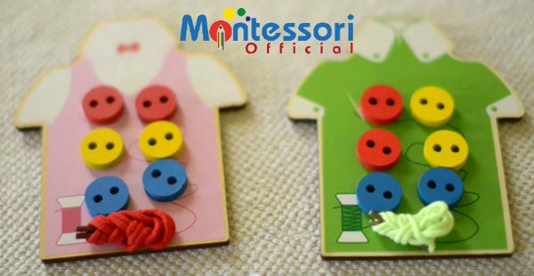 2 Skills Children will Develop with this Montessori Sewing Activity (VIDEO)