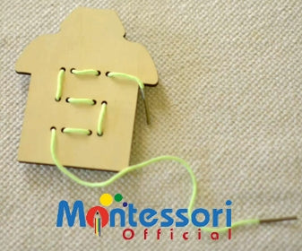 Montessori sewing activity back