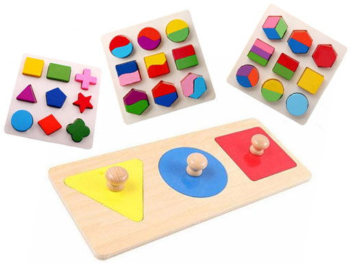 Early Childhood Education - Geometry Puzzle
