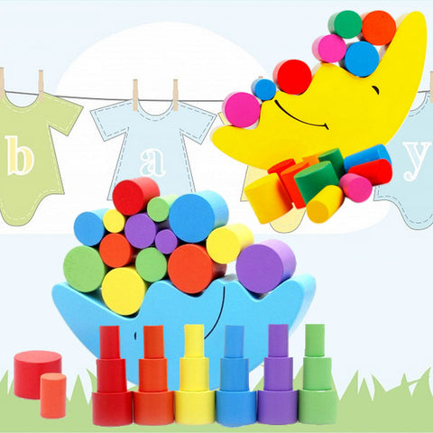 Educational Balancing Toy activity for toddlers