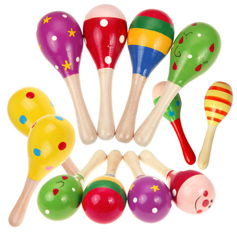 Educational Coloured Maracas