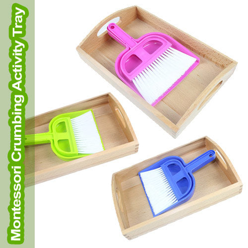 Get the Montessori Crumbing Tray material