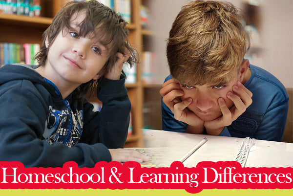 Homeschool Children with Specific Learning Differences