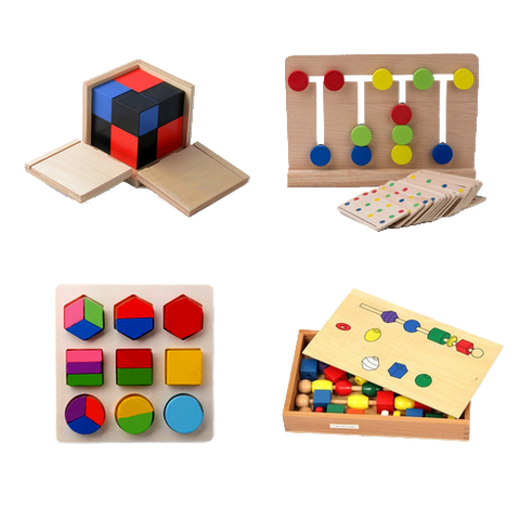 Montessori Method and Montessori specific materials