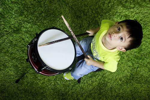 Toddlers development through Music benefits