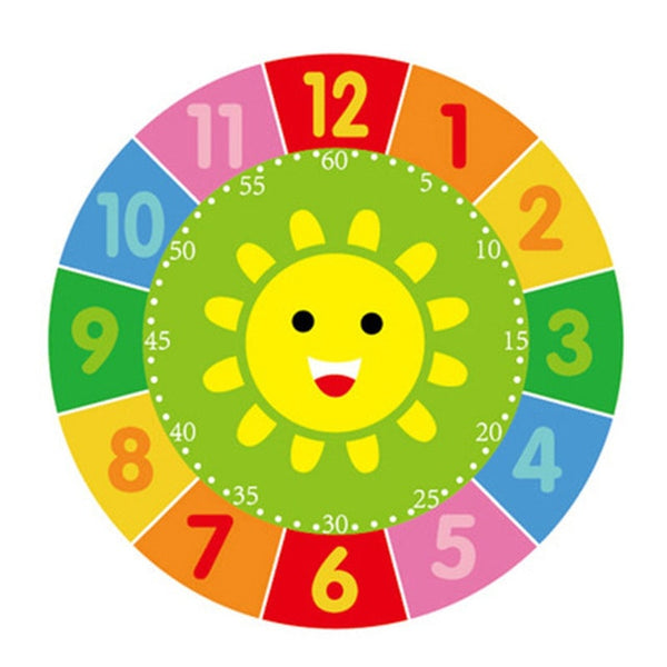 Sensory Wooden Learning Clock