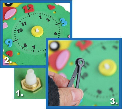 Cognitive educational toys – Animal Learning Clock Assembly