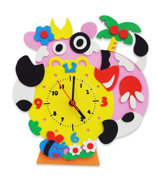 Cognitive educational toys – Animal Learning Clock Cow