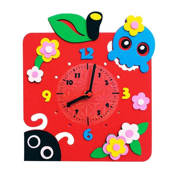 Cognitive educational toys – Animal Learning Clock Flower