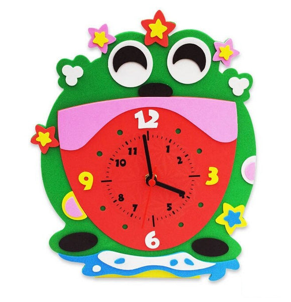 Cognitive educational toys – Animal Learning Clock Frog
