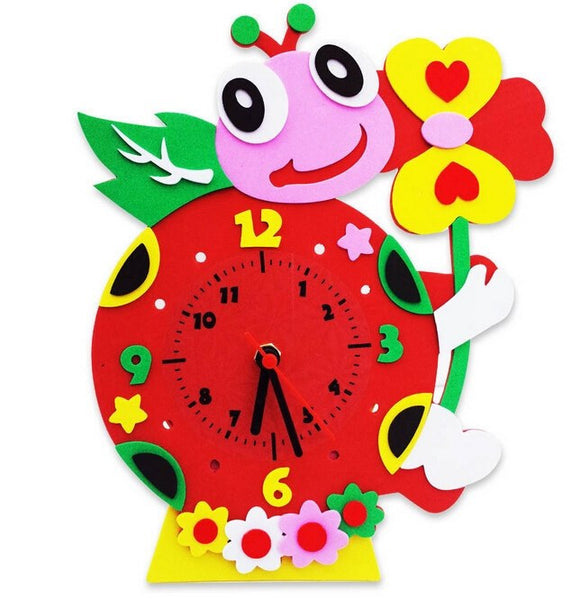 Cognitive educational toys – Animal Learning Clock Ladybug