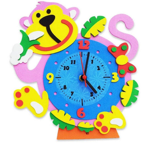 Cognitive educational toys – Animal Learning Clock Monkey