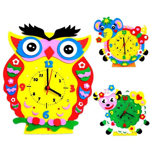 Cognitive educational toys – Animal Learning Clock Overview