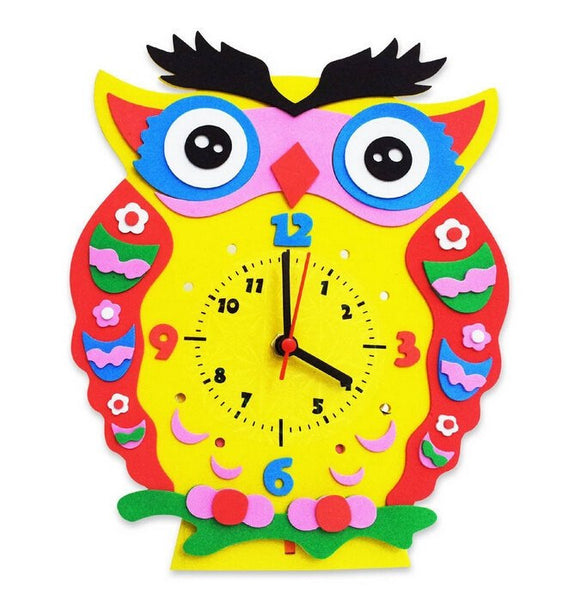 Cognitive educational toys – Animal Learning Clock Owl