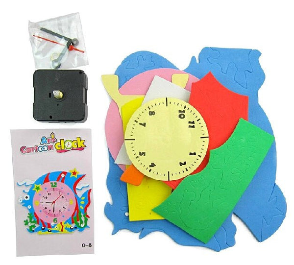 Cognitive educational toys – Animal Learning Clock Package