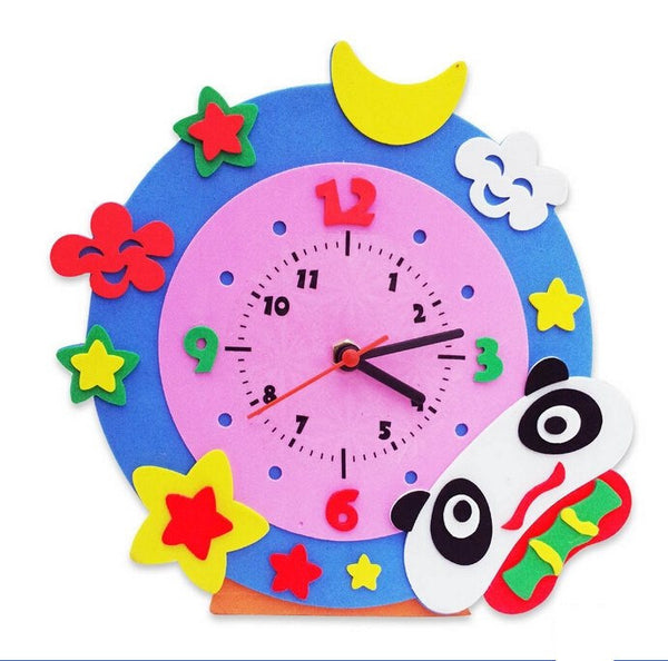 Cognitive educational toys – Animal Learning Clock Panda