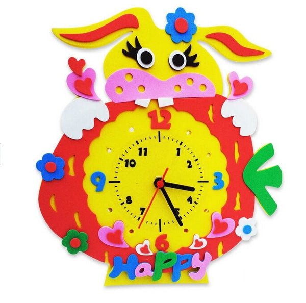 Cognitive educational toys – Animal Learning Clock Rabbit
