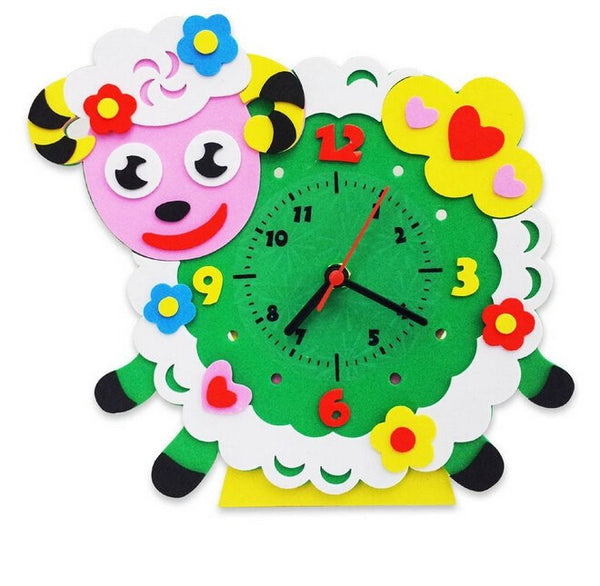 Cognitive educational toys – Animal Learning Clock Ram