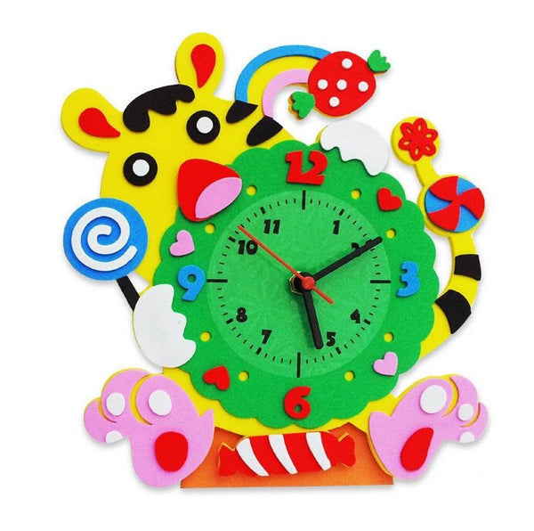 Cognitive educational toys – Animal Learning Clock Tiger