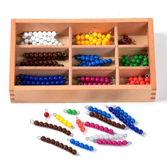 Montessori Math beads - Educational toy