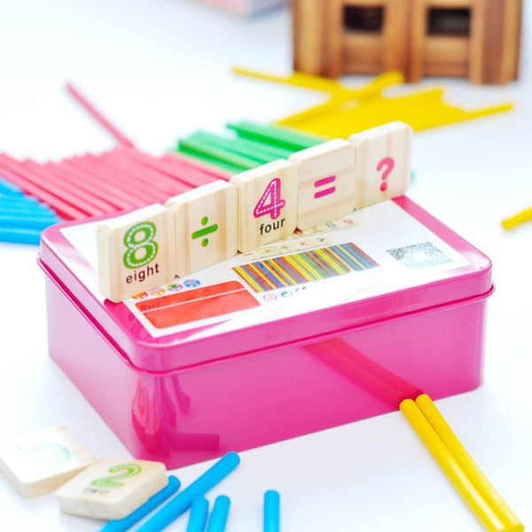 Cognitive educational toys – Early Learning Counting Box Close Up