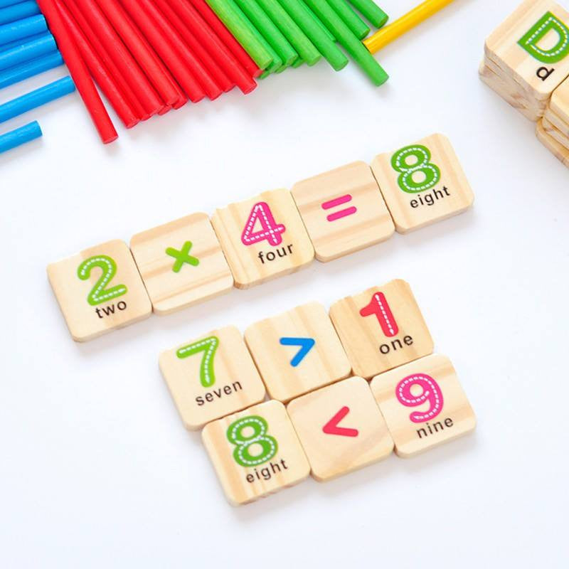 Cognitive Learning Toys : Free early learning counting box montessori official