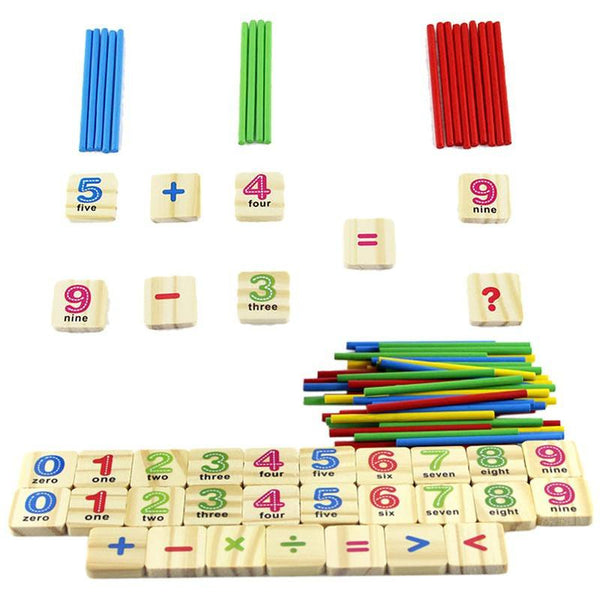 Cognitive educational toys – Early Learning Counting Box Accessories