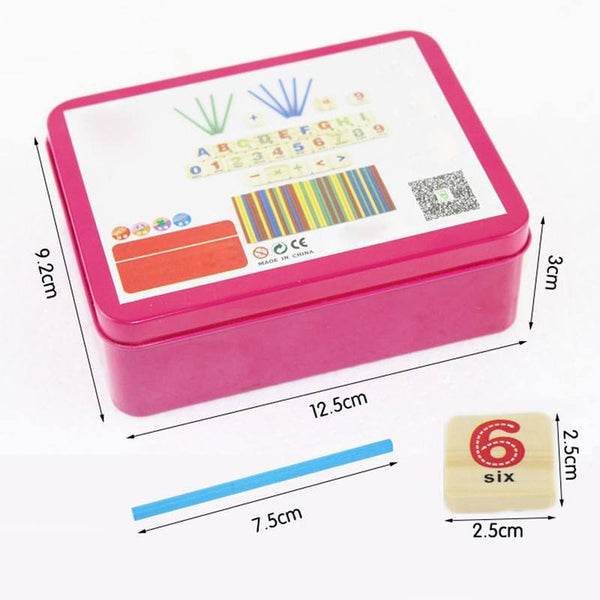 Cognitive educational toys – Early Learning Counting Box Size