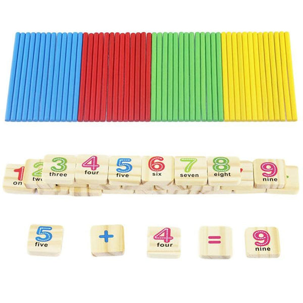 Cognitive educational toys – Early Learning Counting Box Numbers
