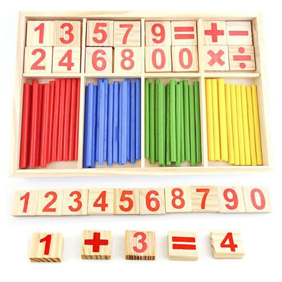 Cognitive educational toys – Math Learning Wooden Set Calculation