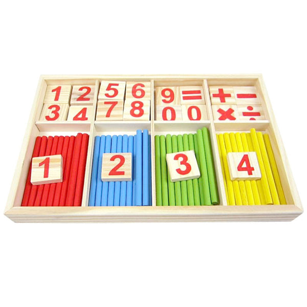Cognitive educational toys – Math Learning Wooden Set Overview