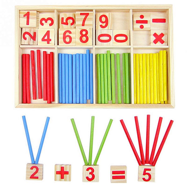 Cognitive educational toys – Math Learning Wooden Set